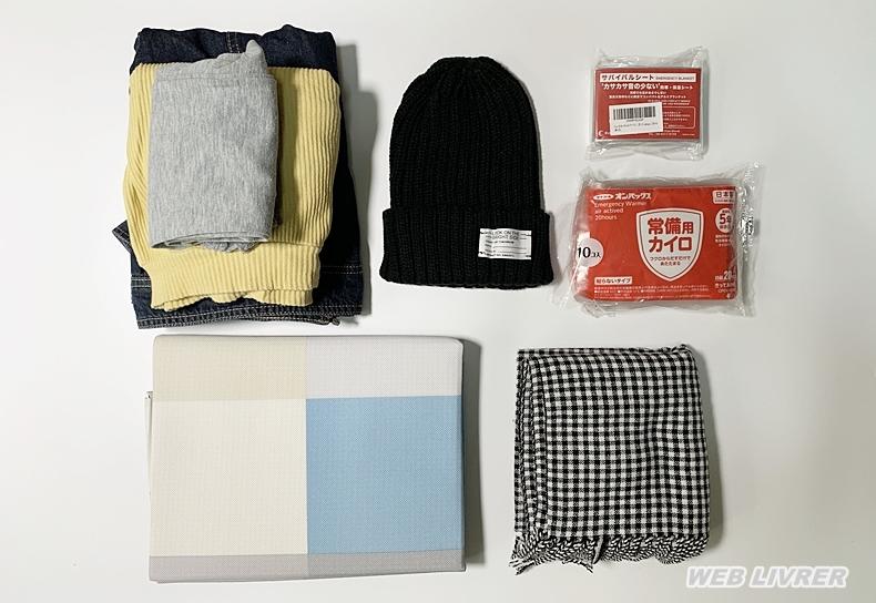 防災-避難グッズ-衣類&防寒-c